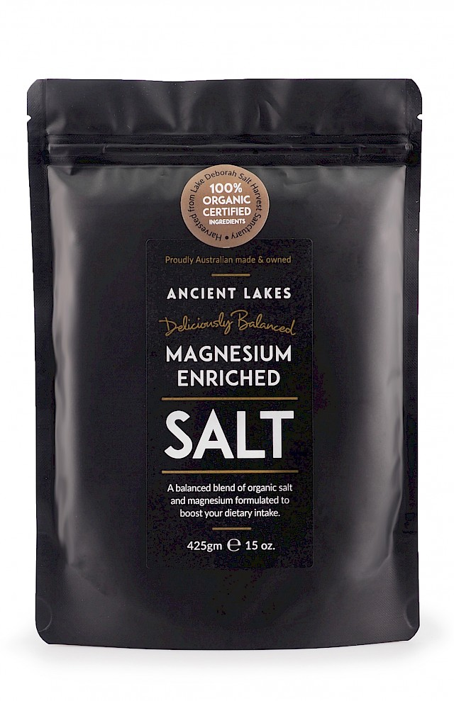 Magnesium Enriched Natural Lake Salt 425 grams