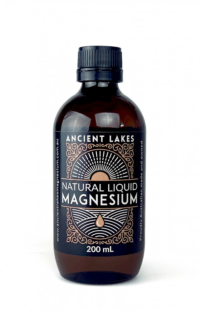 Natural Liquid Magnesium 200ml refill