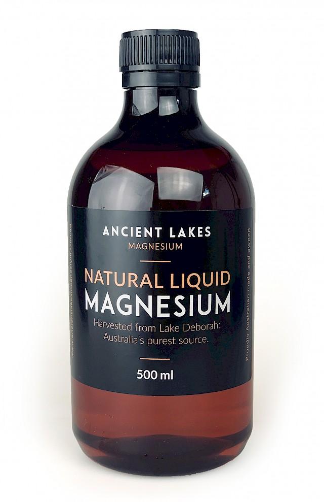 Natural Liquid Magnesium 500ml refill