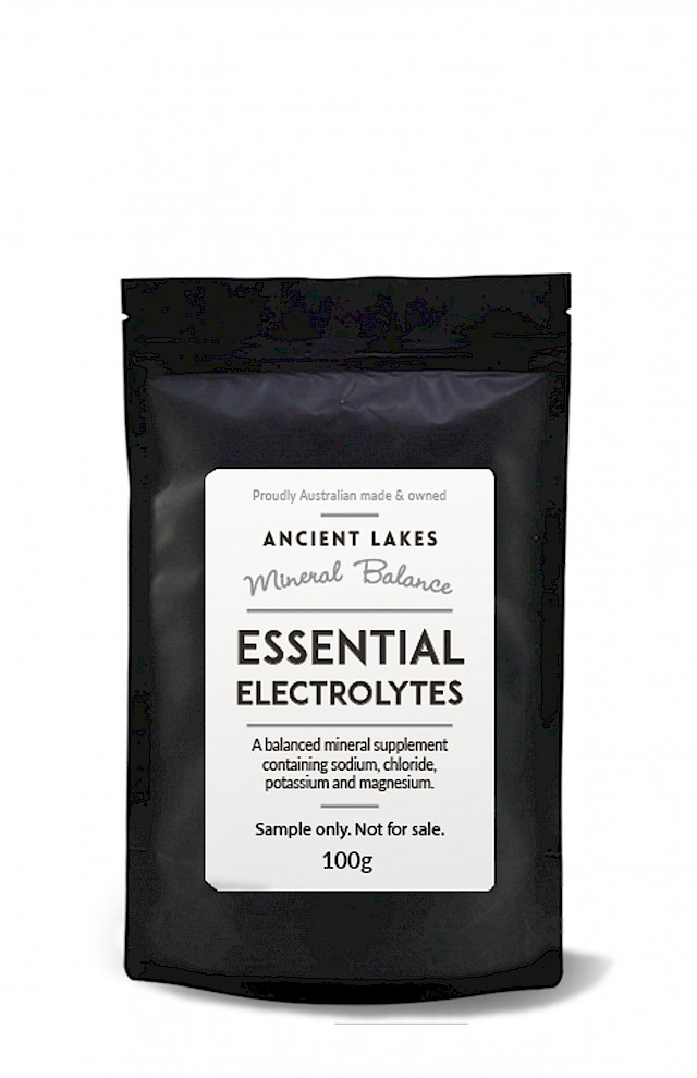 Mineral Balance - Essential Electrolytes 100g sample